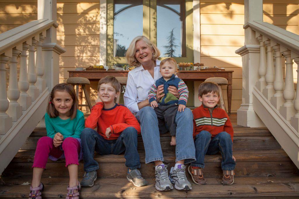 Image of Nancy Ladd & Grandkids - Nana's All Natural Foods